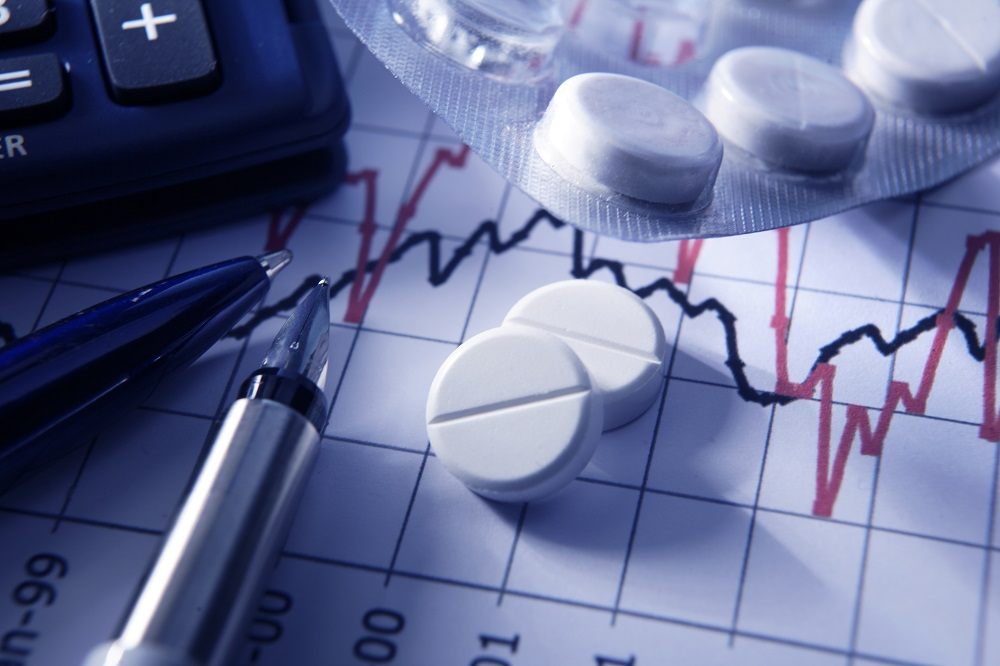 Finance: Painkillers on Stock Chart