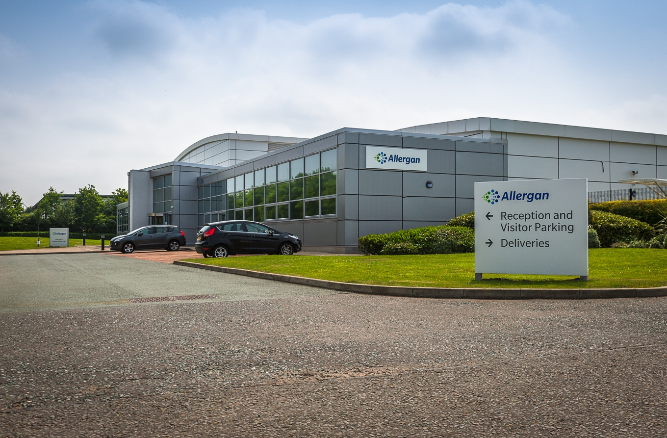 allergan-liverpool-uk